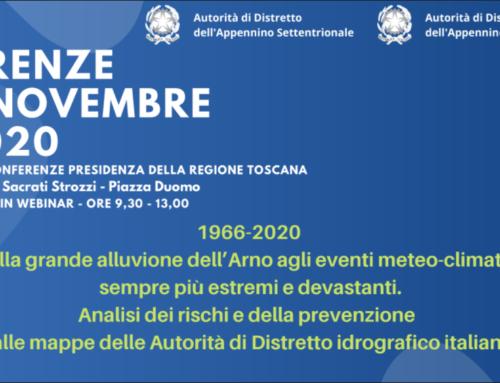 Evento Web 4/11/2020: 1966-2020 Dalla grande alluvione dell'Arno agli eventi meteo-climatici sempre più estremi e devastanti.