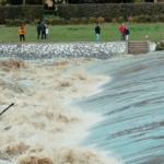 Arno in piena nel 2019. Foto di Tommaso Beni