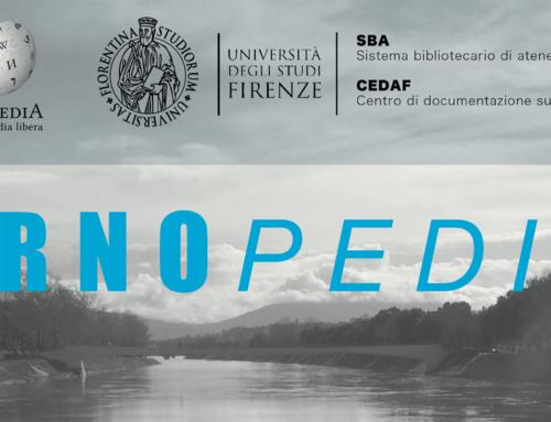 Arnopedia – revisione delle voci Wikipedia riguardanti le alluvioni del fiume Arno