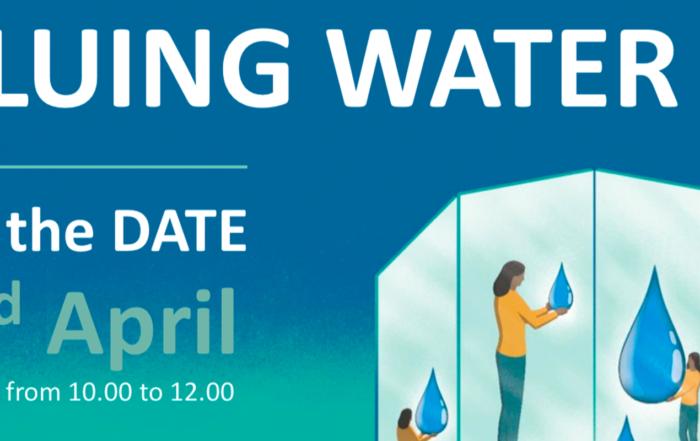 Valuing Water - Webinar, 22 April 2021