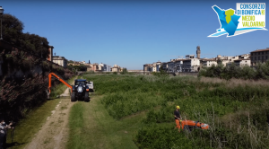 Sfalcio Terzo Giardino 2021_Consorzio di Bonifica 3 Medio Val d'Arno