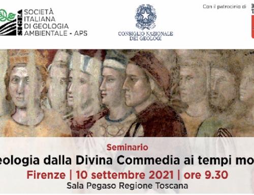 """WEBINAR """"LA GEOLOGIA DALLA DIVINA COMMEDIA AI TEMPI MODERNI""""_10/09/2021"""