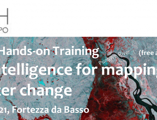 Geospatial intelligence for mapping land and water change_15/10/2021_Firenze_Fortezza da basso