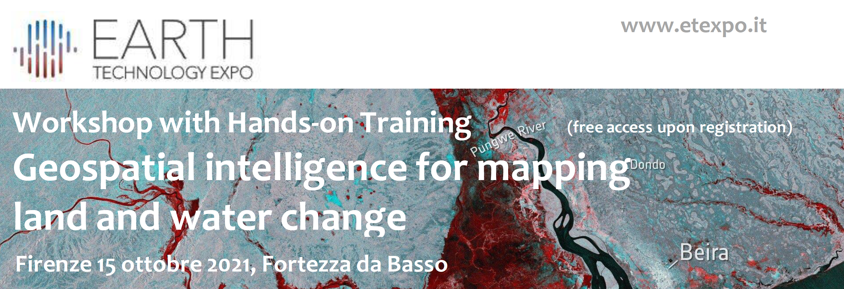 Geospatial intelligence for mapping land and water change